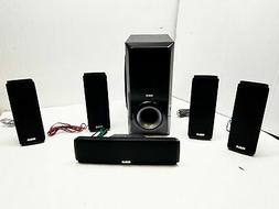 home theater 5 speaker system w sub