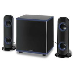 iLive 2.1-Channel Bluetooth Home Music Speaker System with L