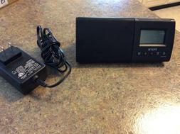 Ihome Ihm46BC Portable USB Charging Dual Alarm Clock Speaker