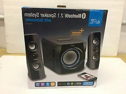 GPX iLive Wireless Speaker System Bluetooth Subwoofer 3.5mm