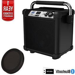 Ion Audio IPA74BK Job Rocker Plus Portable Heavy-Duty Jobsit