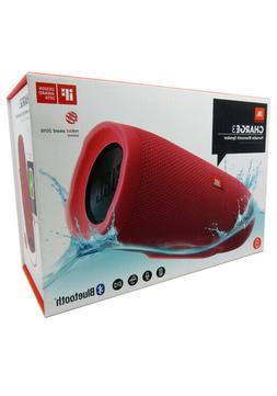 JBLCHARGE3RED JBL Charge 3 Waterproof Portable Bluetooth Spe