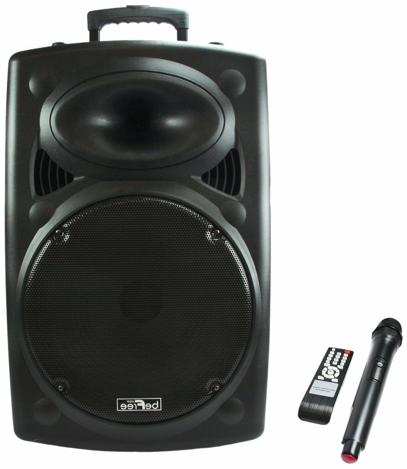 15 900w bluetooth portable pa dj party