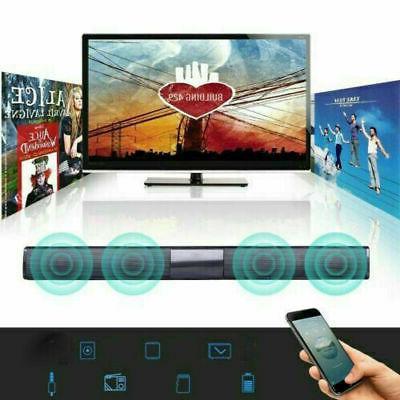 2020Surround Bar 4 Speaker System Subwoofer TV Theater