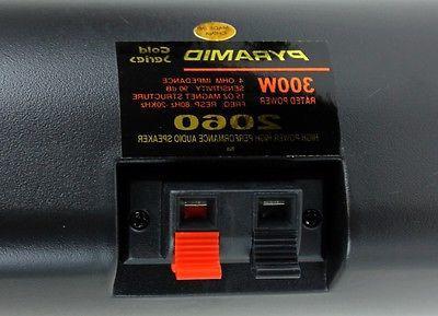 4) NEW PYRAMID 600W Car Mini Box Stereo Indoor System