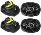 """4 New Kicker 41DSC6934 D-Series 6x9"""" 720 Watt 3-Way Car Audi"""