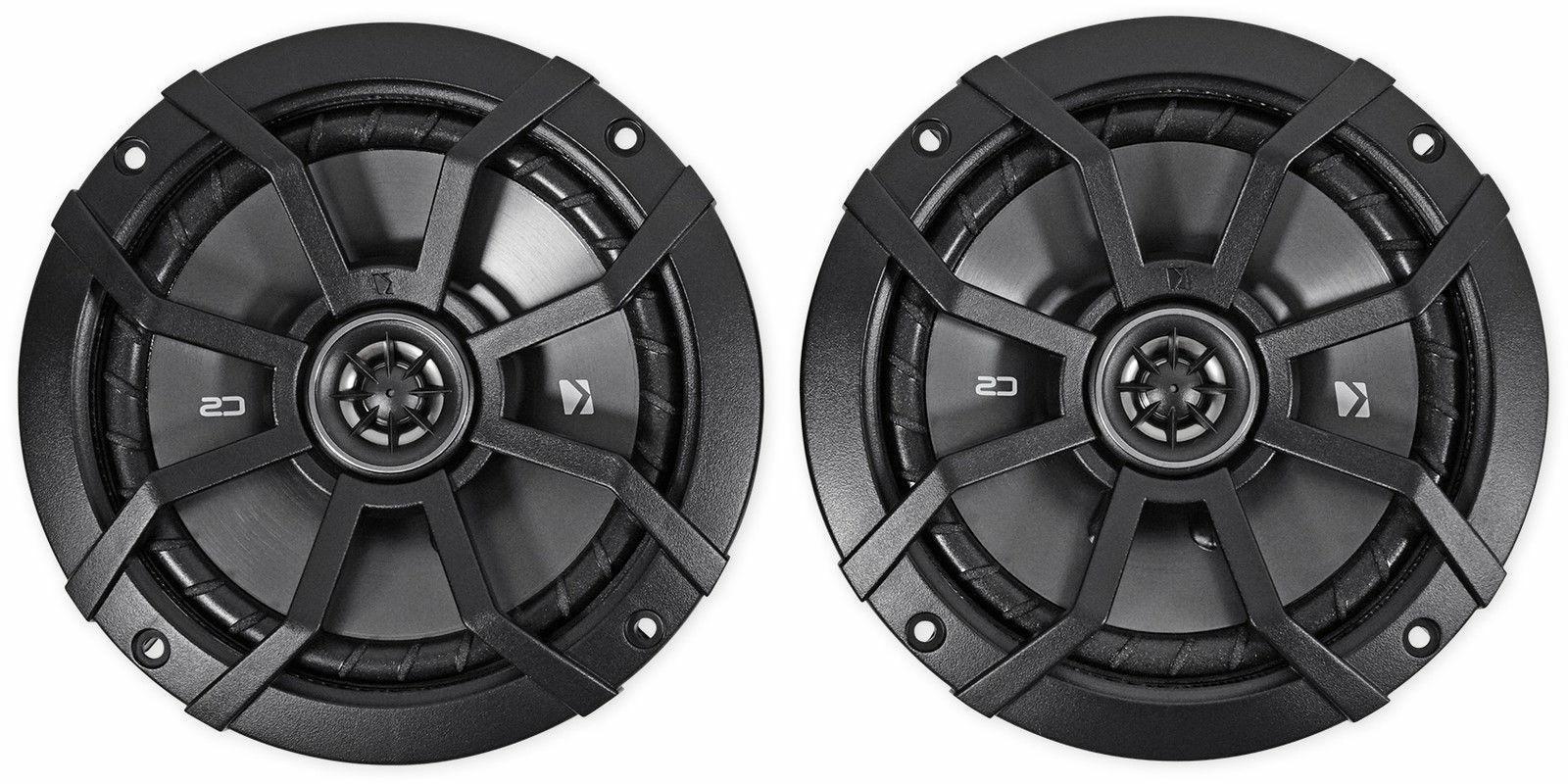 "KICKER 43CSC654 CSC65 6.5"" 600 Watt Car Audio Coaxial Speak"