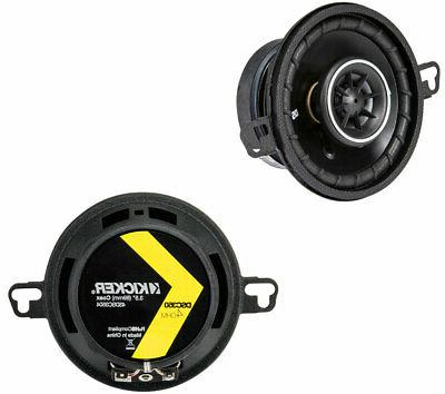 Kicker 43DSC3504 DS Series 3.5-Inch 30W 4 Ohm Coaxial Car Au
