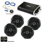 """Kicker 43DSC6504 6.5"""" DS Speakers  with 43DXA2504 DX Amp a"""