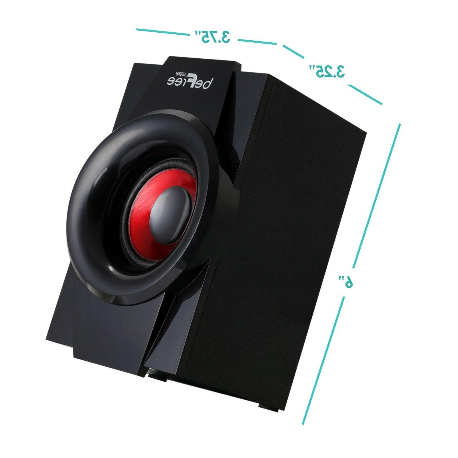 5.1 BFS-410 SURROUND SPEAKER SYSTEM -