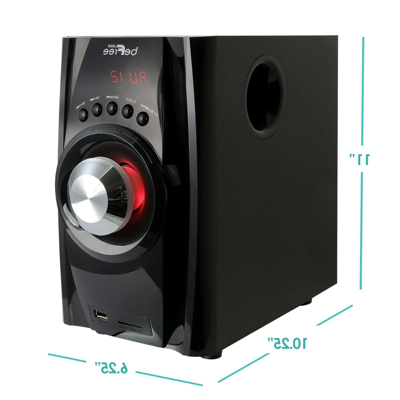 5.1 BFS-410 SURROUND SOUND SPEAKER -