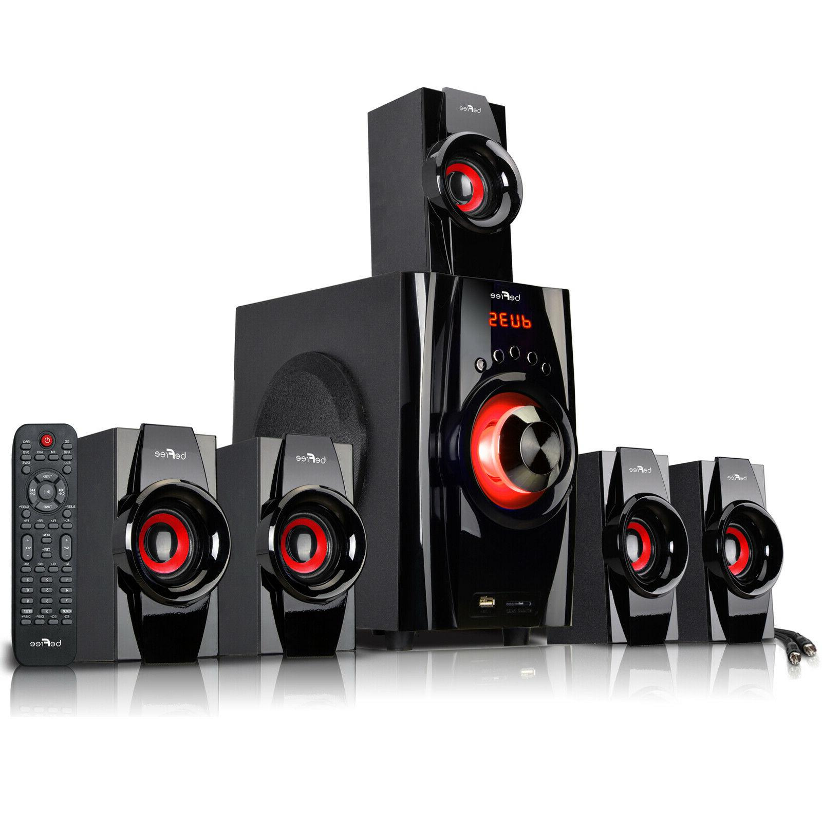 5 1 channel bfs 410 surround sound