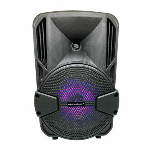 8'' FM Bluetooth Speaker 1000W Subwoofer Bass Sound Party