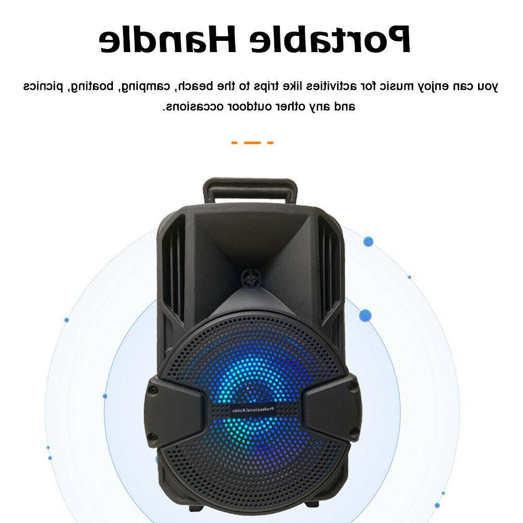 8'' Portable Speaker Bass