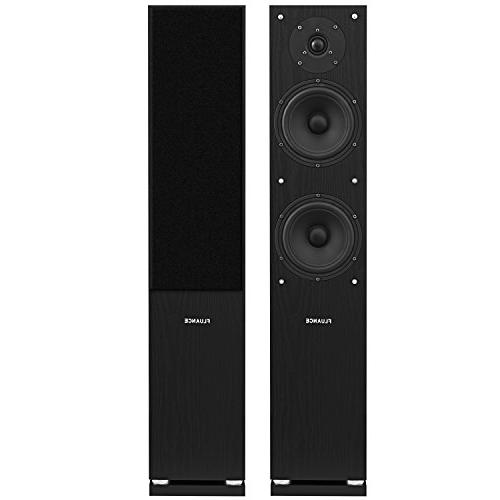 Fluance Surround Sound Home Theater 5.0 Channel including Towers, Center and