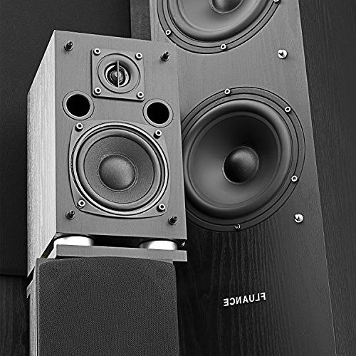 Fluance Definition Surround Home 5.0 Channel including Floorstanding Towers, and Speakers