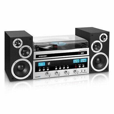 Home System Bluetooth Player FM Radio Streams Music