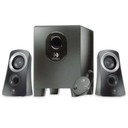 Logitech, Inc Products Speaker System, 1 Subwoofer, 2