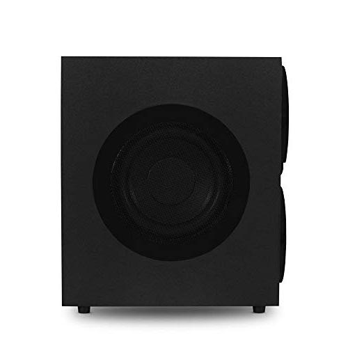 """Acoustic AAT3000 5.1 Speaker with 8"""" Powered"""