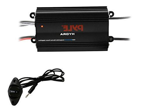 auto bridgeable marine amplifier