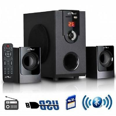 befree 2 1 channel surround sound bluetooth