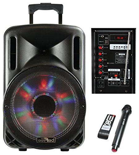 bluetooth powered pa subwoofer