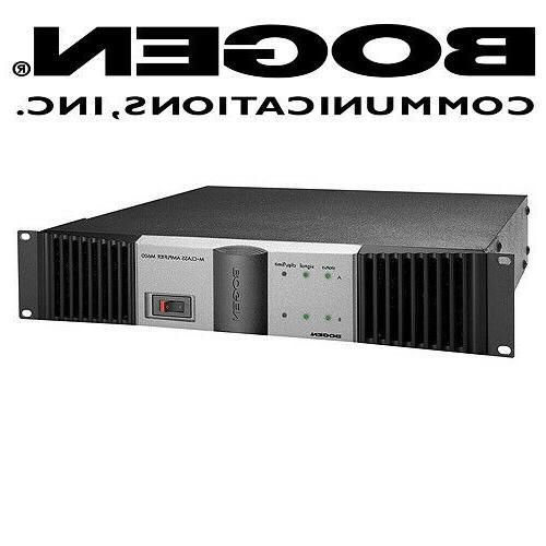 Bogen Power Amplifier Stereo 450W 2 Channel 900W Speaker Sys