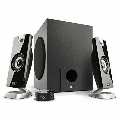 Cyber Acoustics CA-3090 Multimedia Speaker System - 2.1-chan