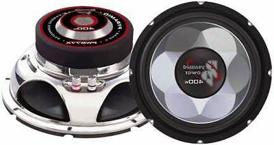 """Pyramid Car Audio PW1277X New 12"""" 700W Injection Molded Cone"""