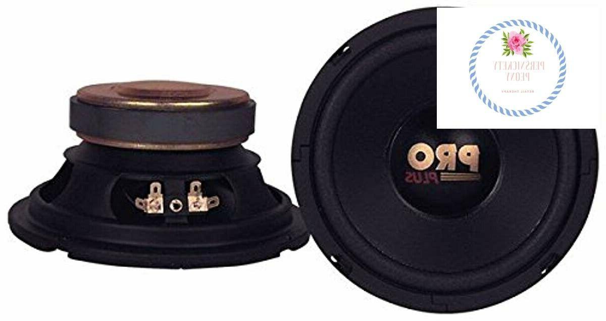 car mid bass speaker system pro 6