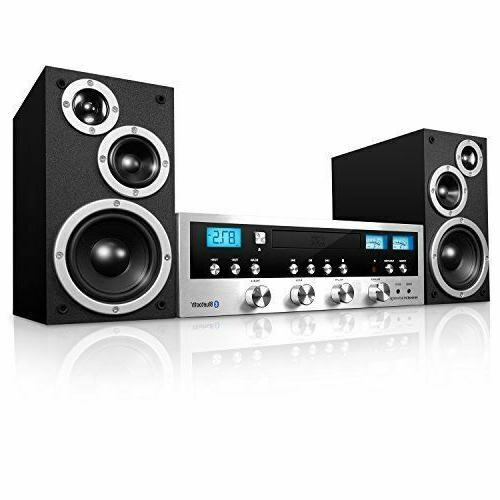 cd stereo system bluetooth home speaker mp3