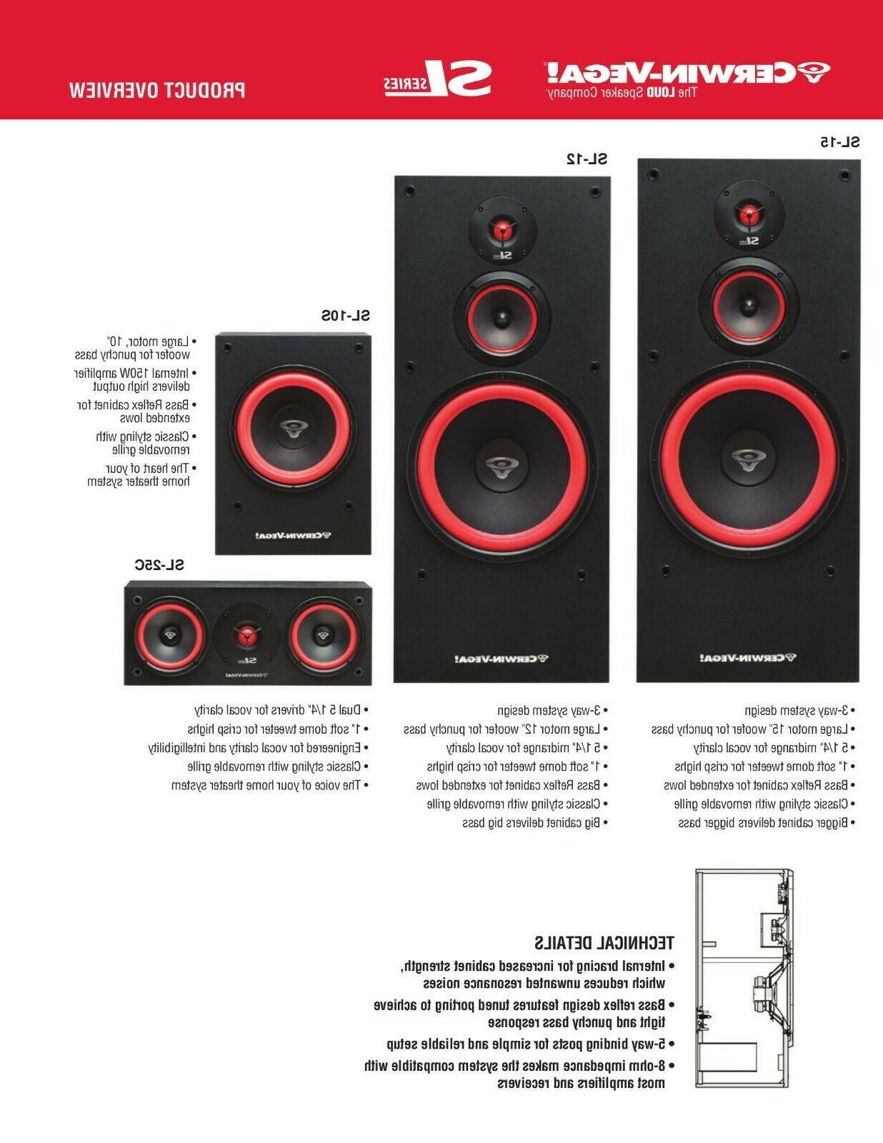 Cerwin-Vega SL System multi system select
