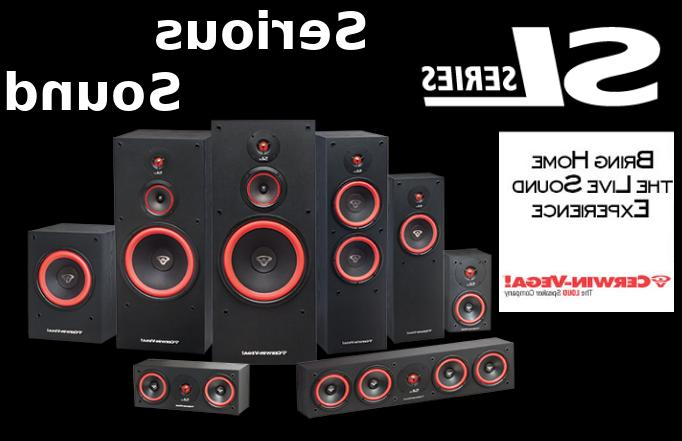 cerwin vega sl series speaker system component