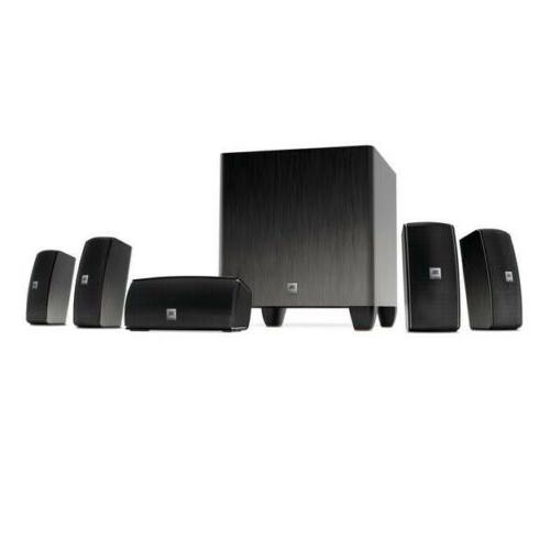JBL Cinema 610 Advanced 5.1 Home Theater Speaker System with
