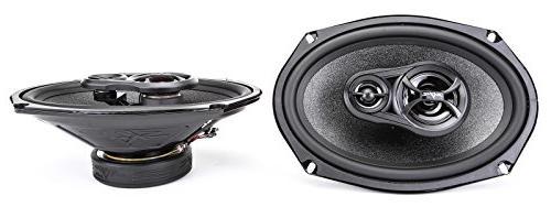 """Skar 6""""x9"""" 300W 3 Way 6.5"""" Speakers System Speakers"""