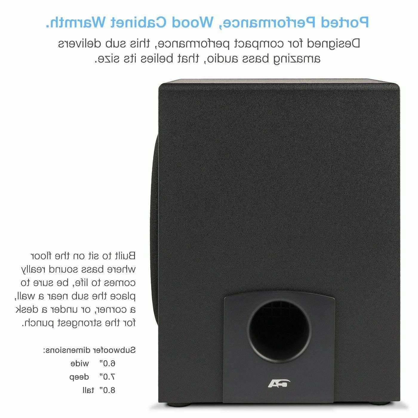Subwoofer Speaker System Home Stereo Bass Sound Computer