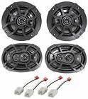 "Kicker Front 6x9""+Rear 5.25"" Speaker Replacement Kit For 200"