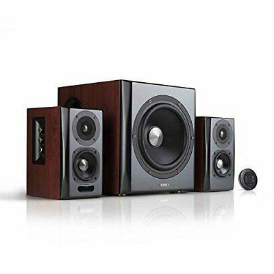Edifier S350DB Bookshelf Speaker and Subwoofer 2.1 Speaker S