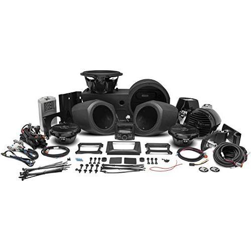 Rockford GNRL-STAGE4 400 watt Stereo, Speaker, Rear and subwoofer kit for General