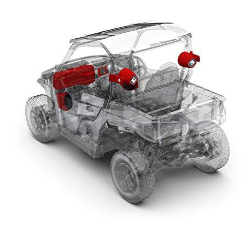 Rockford watt Front Lower Speaker, Rear subwoofer kit General