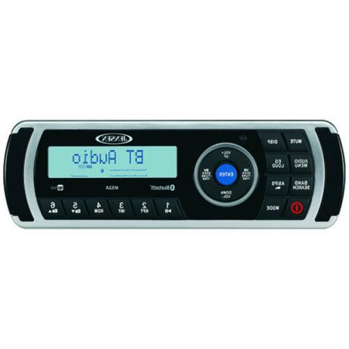 Jensen MS2A Bluetooth Marine USB Stereo, 4-Channel Amp, Antenna, 4