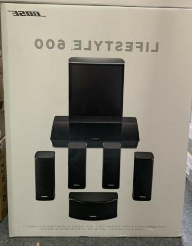 lifestyle 600 speaker system black