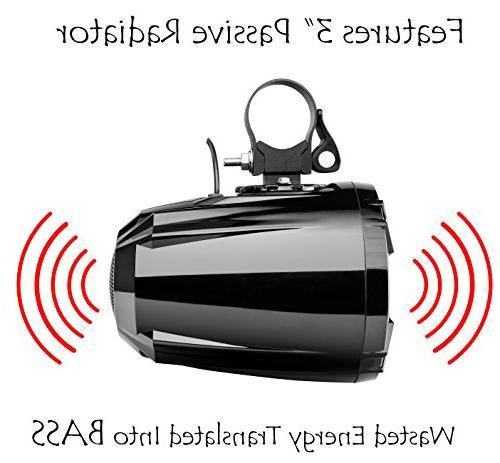 NOAM NUTV5 - Bluetooth ATV/Golf Speakers Stereo