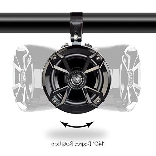 NOAM - Bluetooth ATV/Golf Speakers Stereo