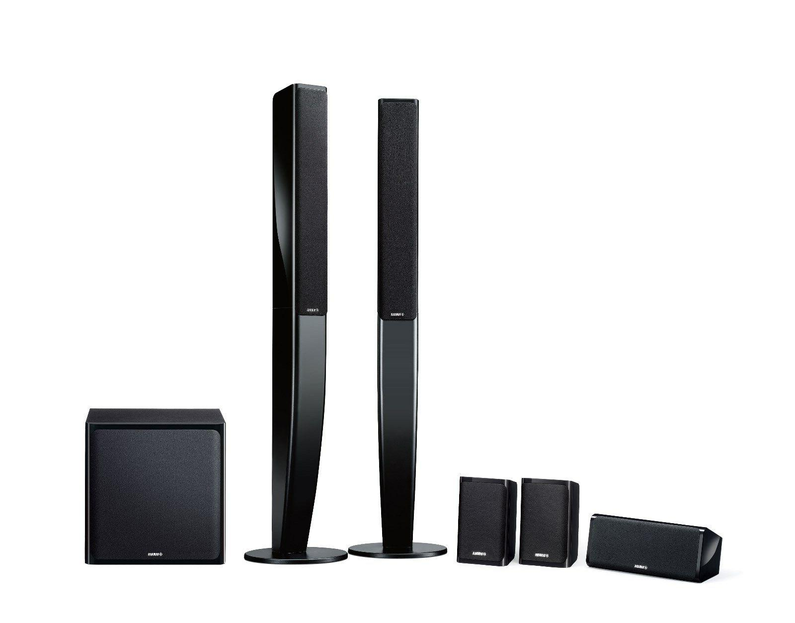 new 5 1 channel tower speaker system