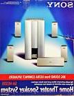 NEW Sony Home Theater Speaker System SA-VE355 Silver Surroun