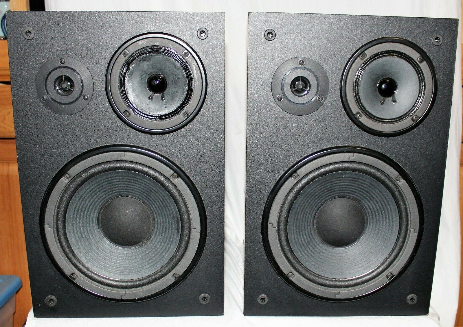 ns a636 3 way bookshelf speaker system