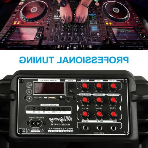 Portable Speaker Subwoofer Heavy DJ FM
