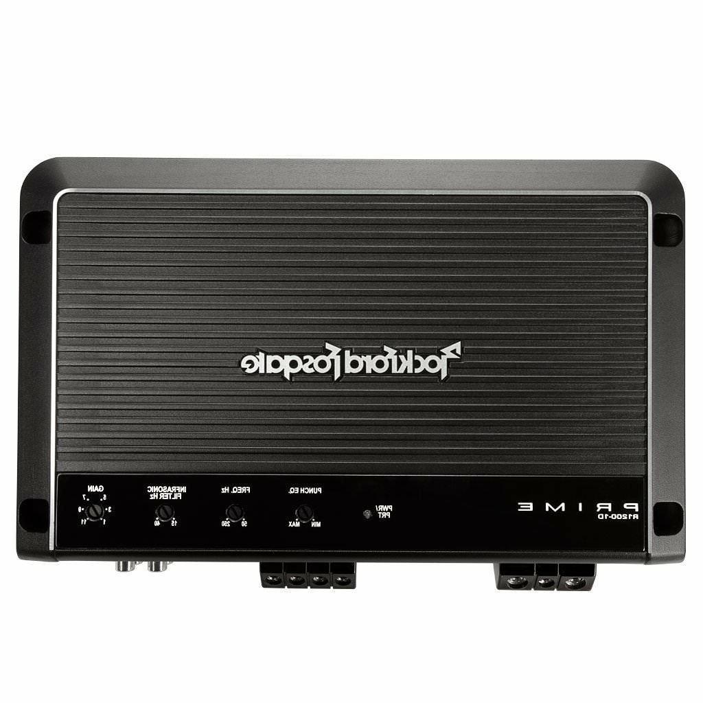 R1200-1D ROCKFORD FOSGATE / PRIME 1200 WATT MONOBLOCK AMP **