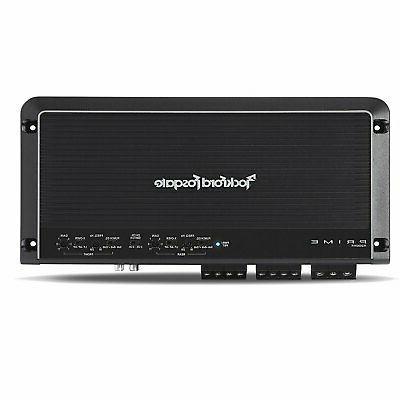 Rockford R300X4 4-Channel Amplifier + 4 Channel Kit
